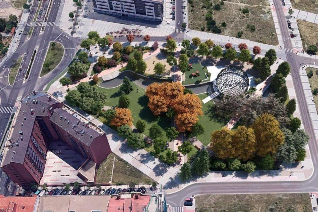 Nueva plaza ciudad de comunicación